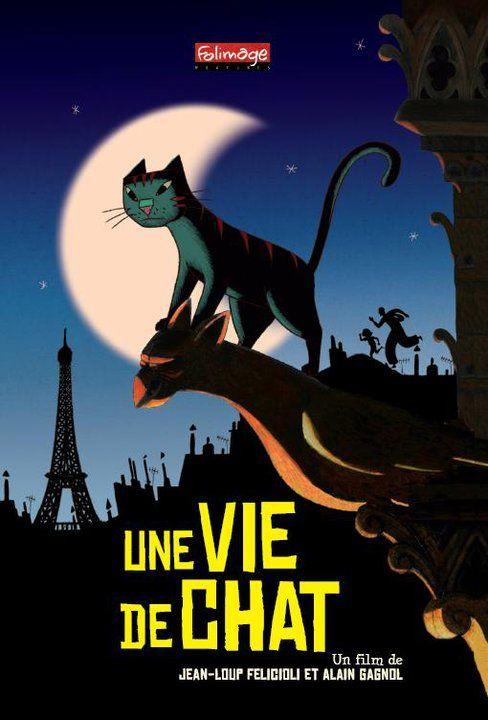 Une Vie De Chat Chat Film D Animation Jean Loup