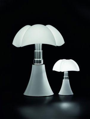 Lampe de table Minipipistrello LED / H 35 cm Blanc - Martinelli Luce
