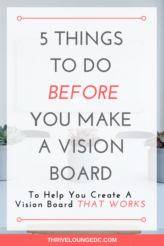 5 Things To Do BEFORE You Make a Vision Board | Entrepreneur + ...