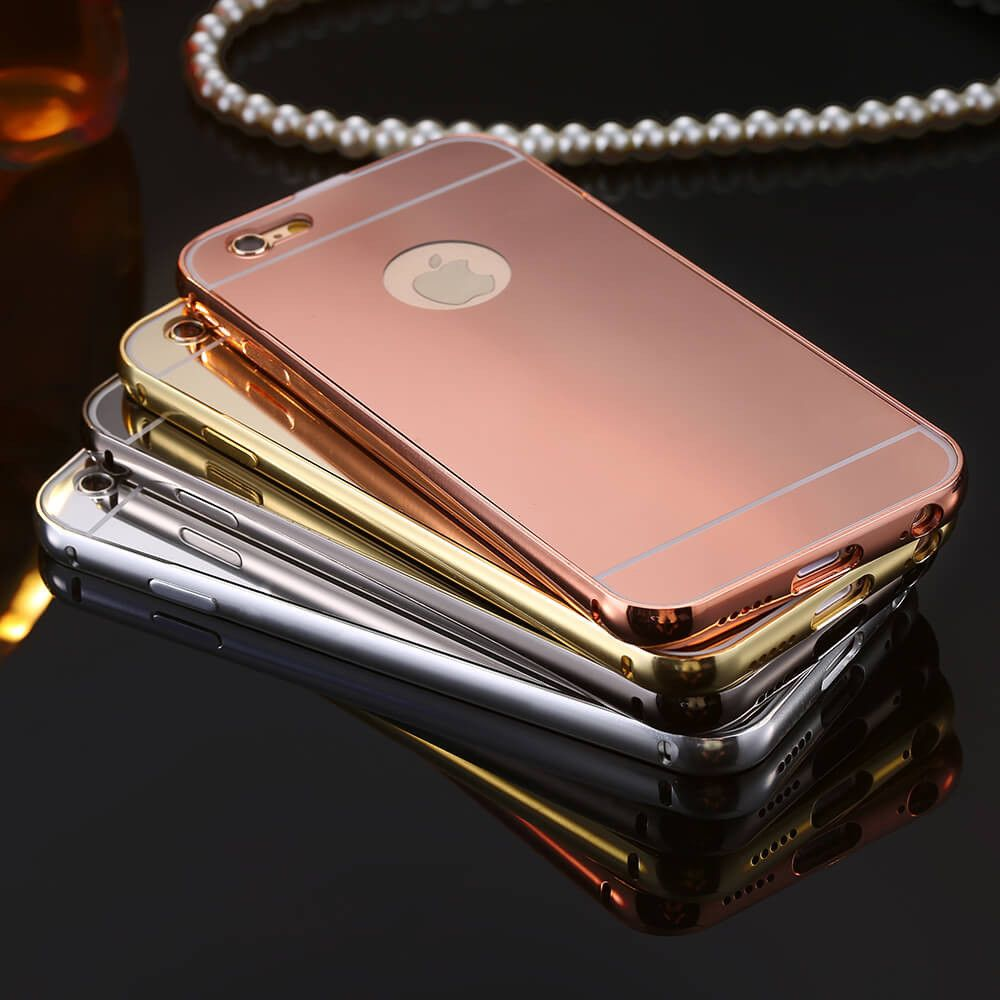mirror iphone 7 plus case. luxury aluminum mirror ultra slim case for apple iphone iphone 7 plus f