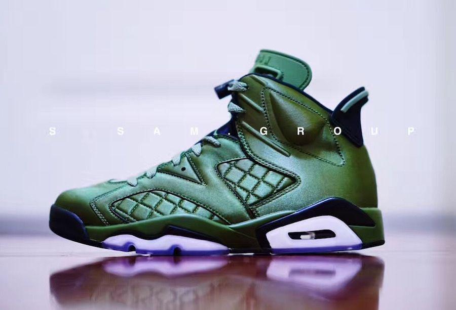 Air Jordan 6 Pinnacle Flight Jacket Release Date - Sneaker Bar Detroit  https    4943cbc28