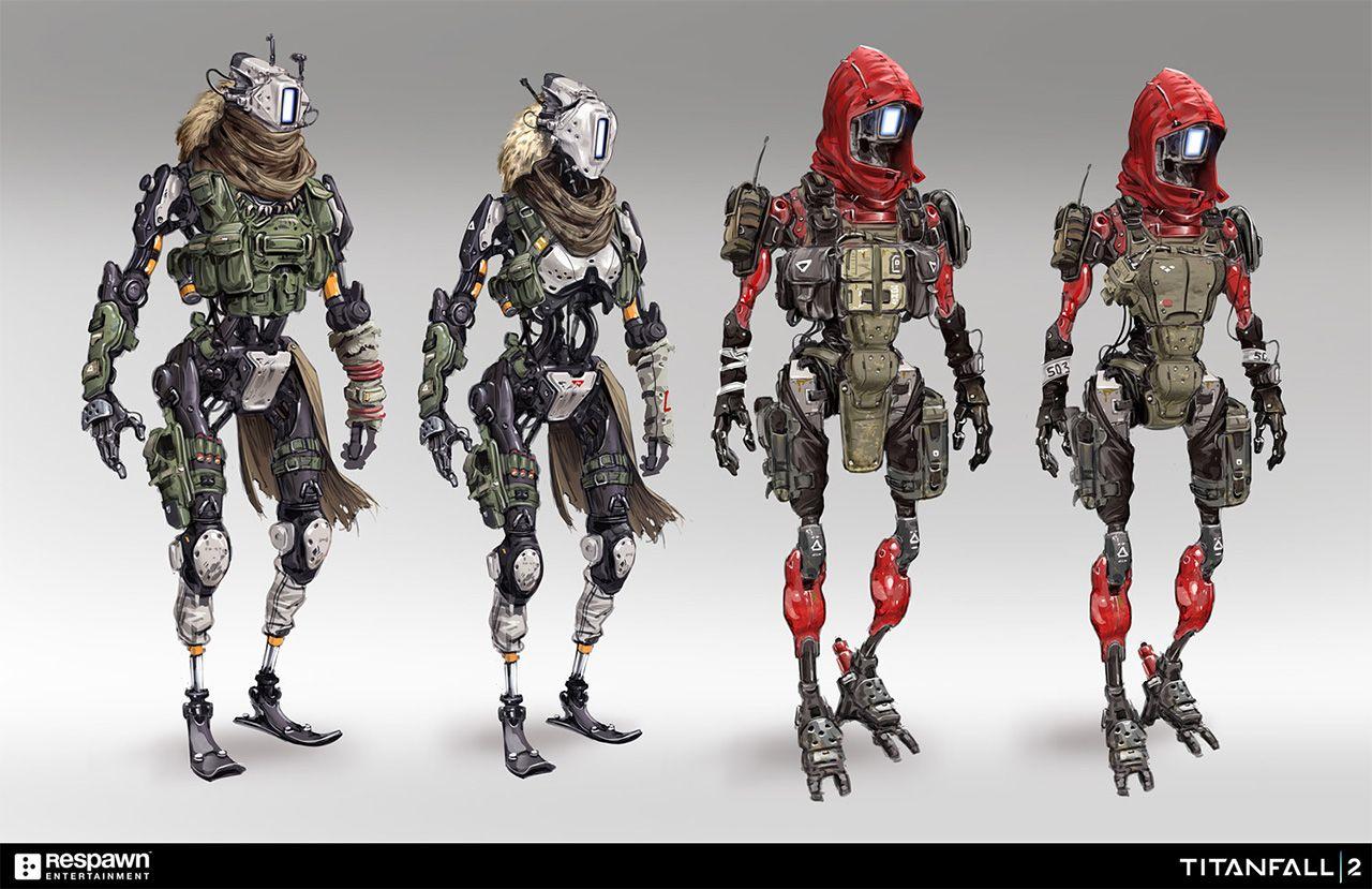Respawn Entertainment Titanfall 2 Art Blast! | Android art ...