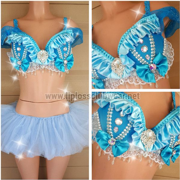 Sexy Cinderella Rave Outfit Costume, Festival Outfit, Cinderella... ($125) ❤ liked on Polyvore featuring costumes, blue costume, sexy cinderella costume, sexy costumes, cinderella halloween costume and cinderella costume