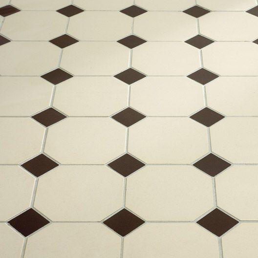 Leroy merlin carrelage int rieur architecte octogone en for Carrelage octogonal