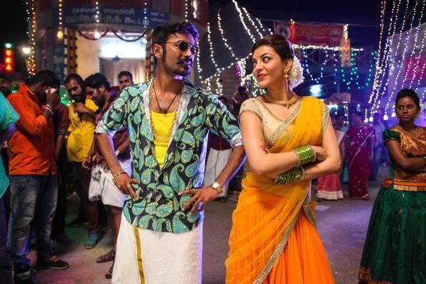 Maari Movie Latest Stills Dhanush Kajal Aggarwal Tamil Movies Romantic Couple Images Movies