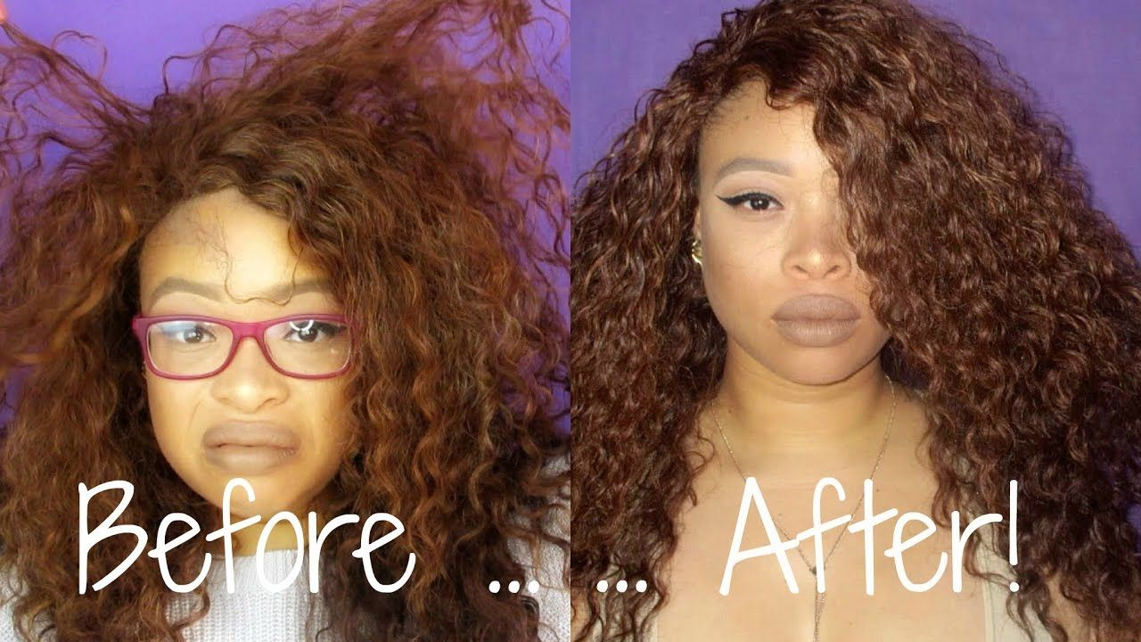 How To Revive Refresh A Curly Synthetic Wig The Heathers Synthetic Curly Hair Curly Crochet Hair Styles Wigs