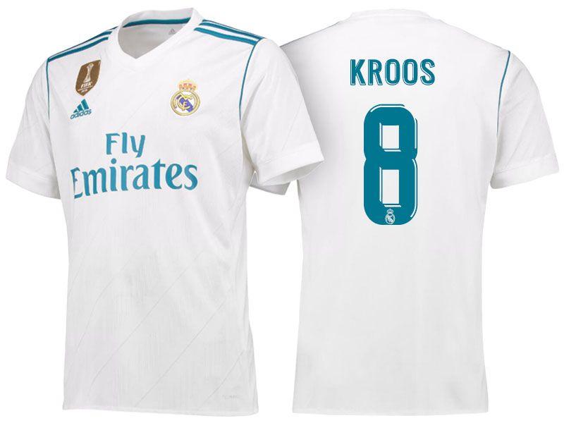bf2fccffe6d Toni Kroos Real Madrid Jersey – Spieler Bild Idee