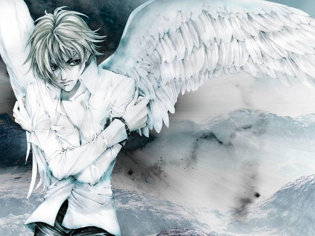 Anime Angel Boy Wallpaper Cartoon Boys With Wings Anime Angel Anime Anime Wallpaper