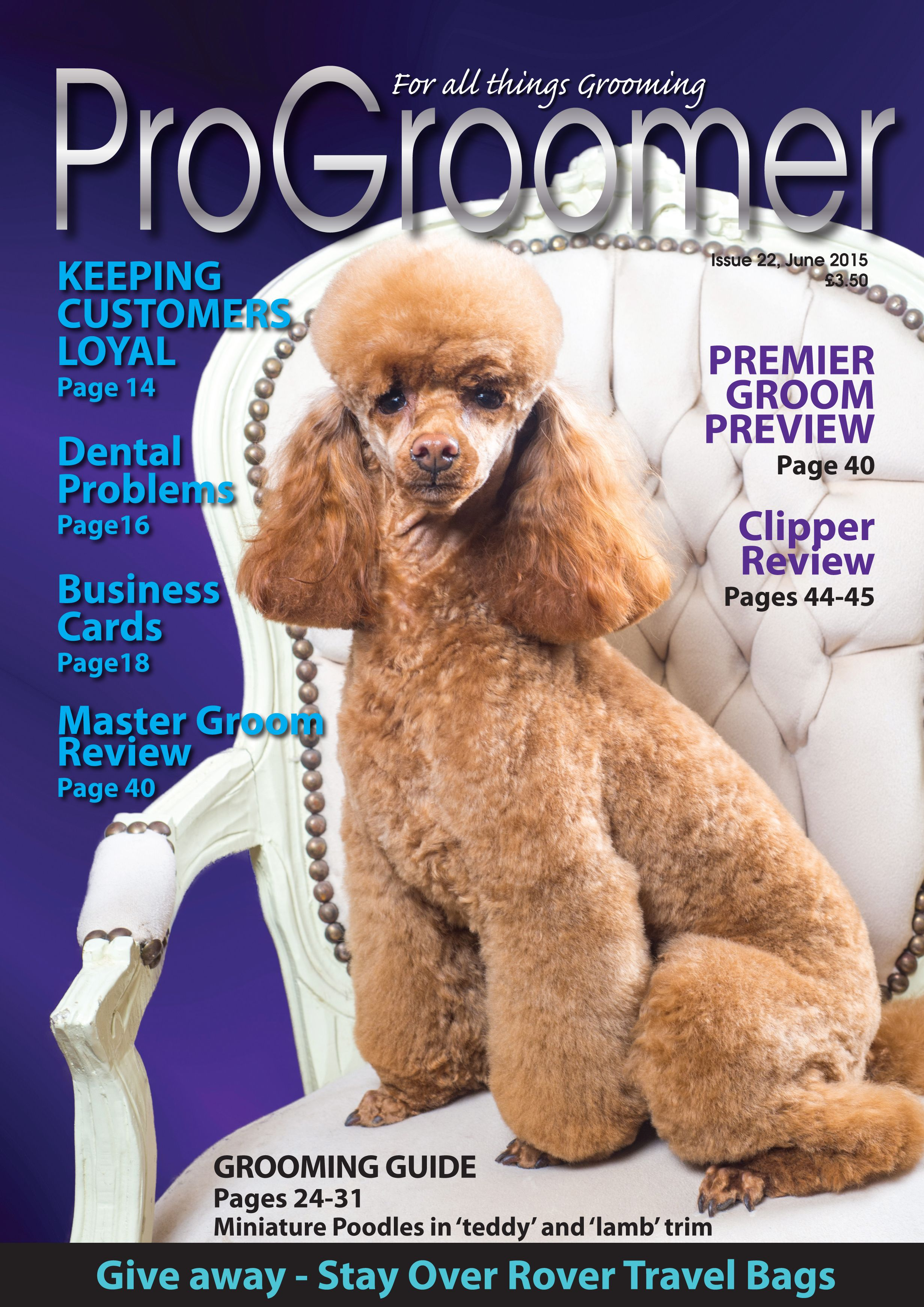 Progroomer Issue 22 June 2015 Dogs Grooming Doggrooming