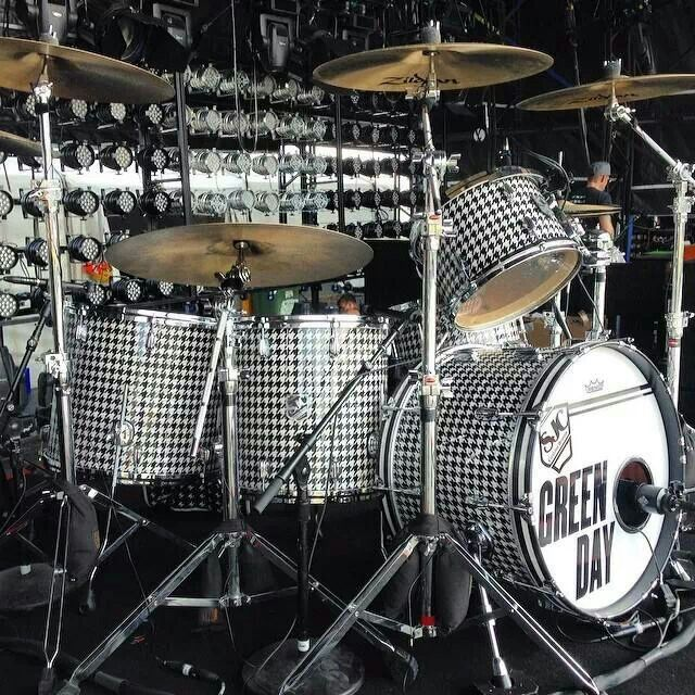 GD  Tre Cool  | Instruments in 2019 | Drums, Drum kits