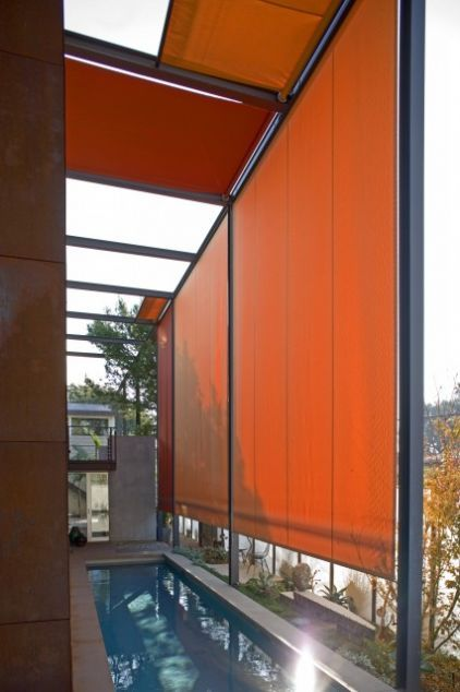 RollerShades - Bold and Beautiful use of color Roller blinds