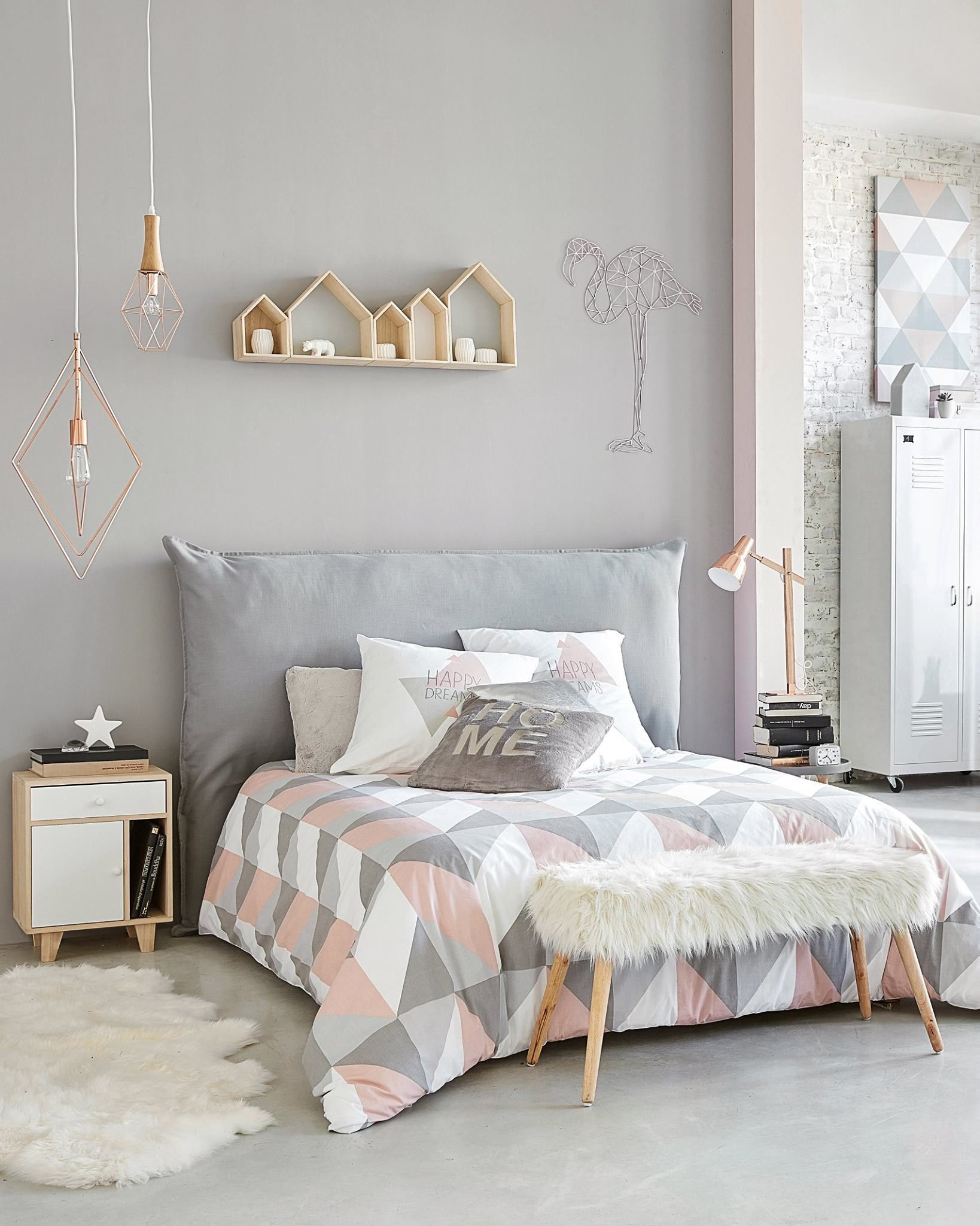Bedroom paint finish gray gray abstract - Paint finish for bedroom ...