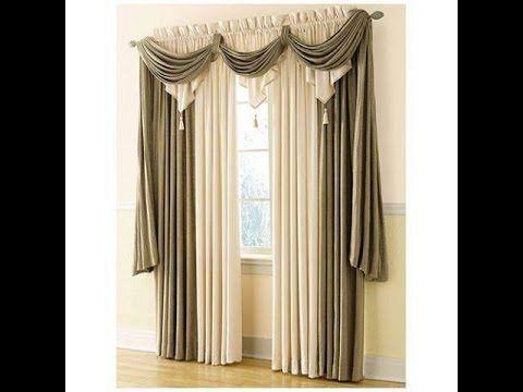 Anna S Linens Annabella Waterfall Window Valance Youtube Classic Curtains Curtain Decor Home Curtains