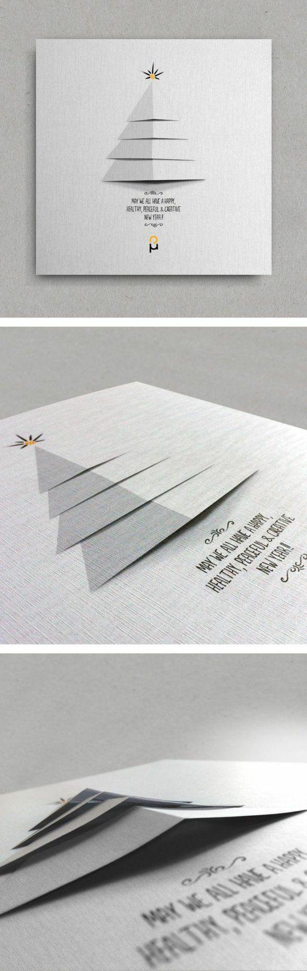 ▷ 1001+ Ideen - Weihnachtskarten basteln - tolle Geschenkideen für ...