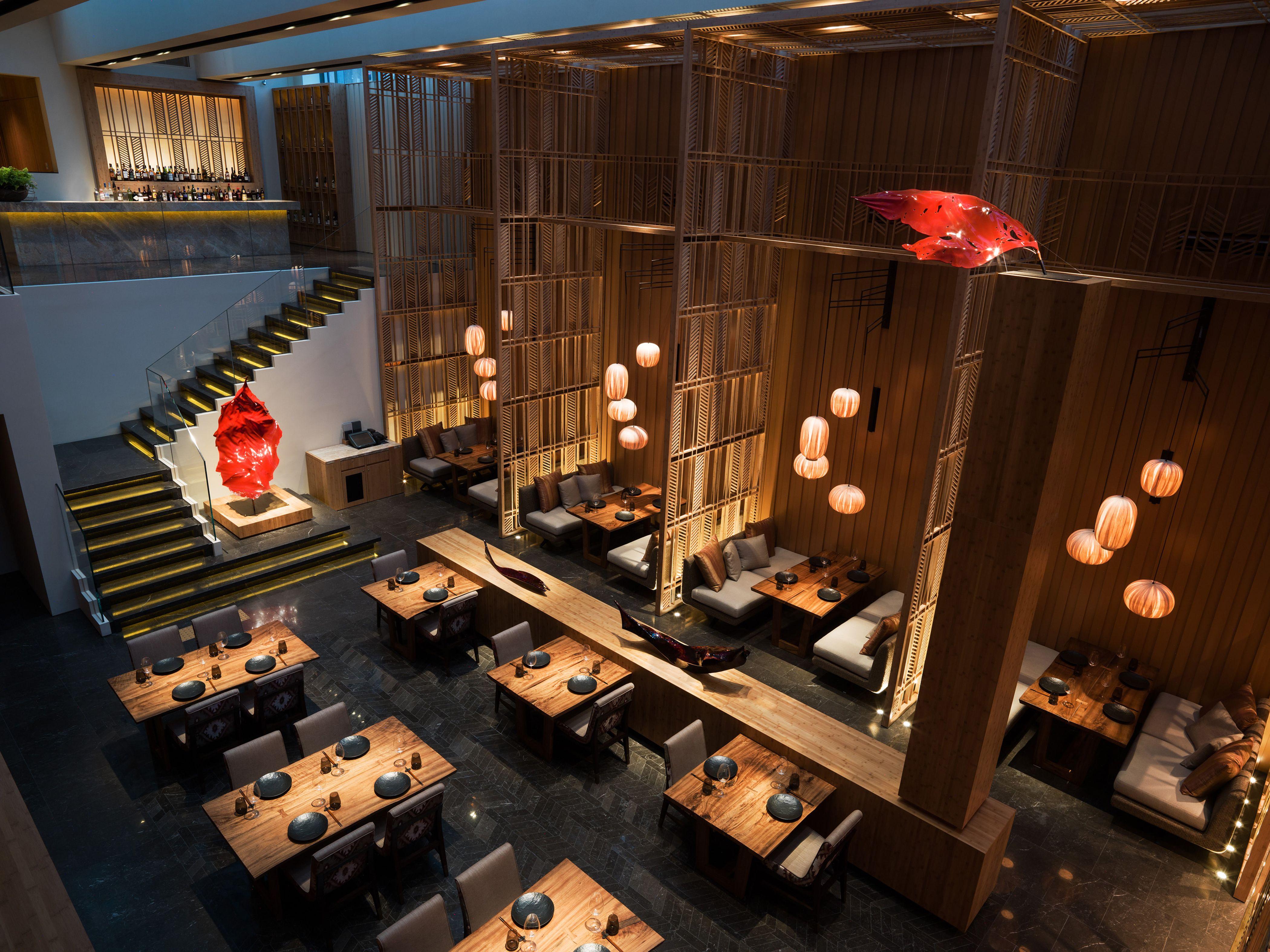 Kioku Anese Restaurant At Four Seasons Hotel Seoul Designed By Afso Hospitalitydesignmagazine Hospitalitydesign Hdmag Projects Design