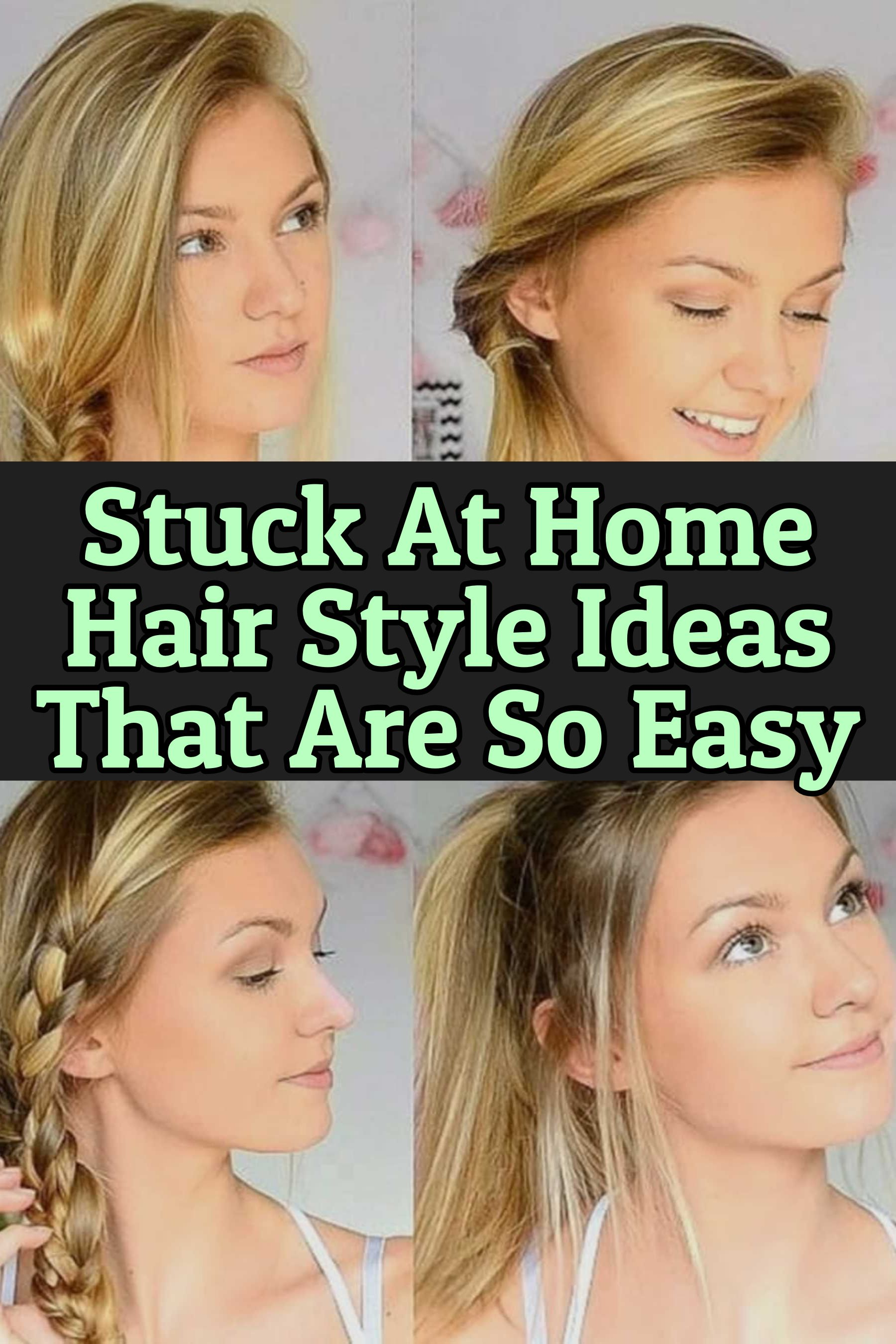 10 Easy Lazy Girl Hairstyle Ideas Step By Step Video Tutorials For Lazy Day Running Late Quick Hairstyles Clever Diy Ideas In 2020 Lazy Girl Hairstyles Lazy Hairstyles Easy Everyday Hairstyles
