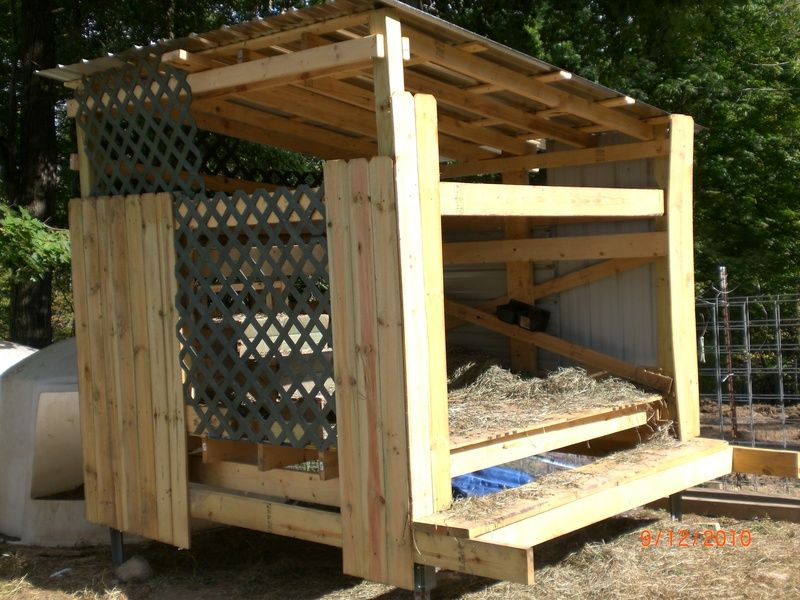 A Small Goat House Goat Houses Amp Play Grounds