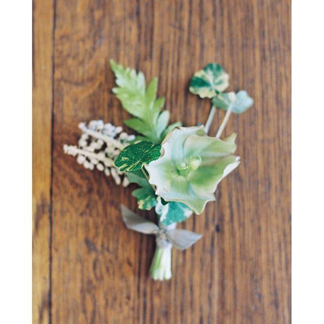 "Modern Wedding Ceremony Songs: ""A Sweet Little Bundle Of Green Designed By @sarah_winward"
