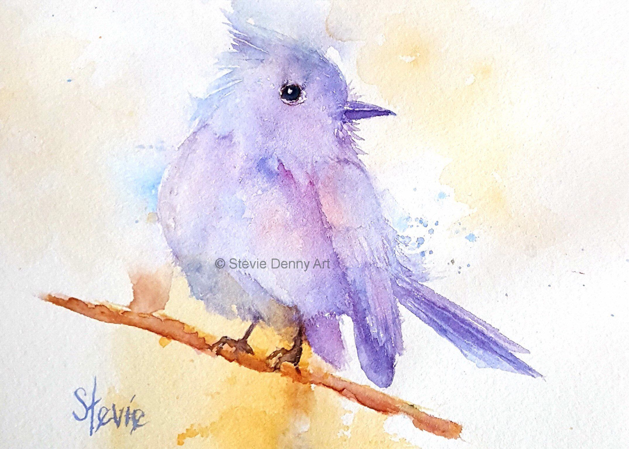 Excited To Share This Item From My Etsy Shop Bird Sketch 5x7