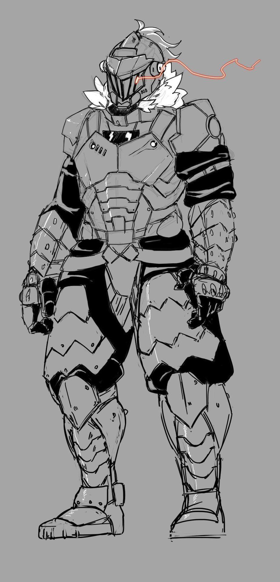 Made An Amalgam Of Doom Guy And Goblin Slayer By Kamenkuro Tumblr