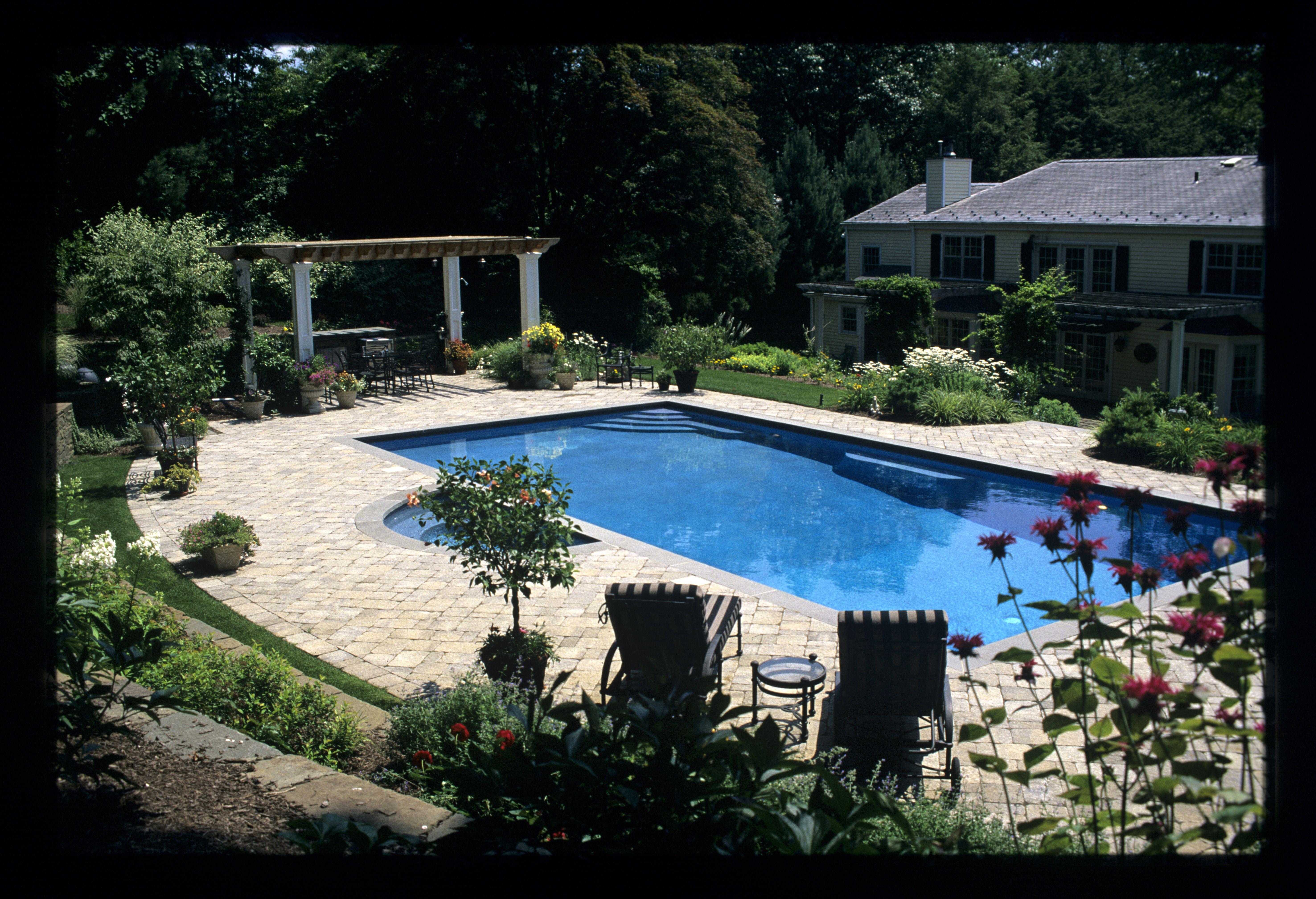 Water Feature - Pool, patio, garden, Knapp & Associates, landscape architecture, landscape design