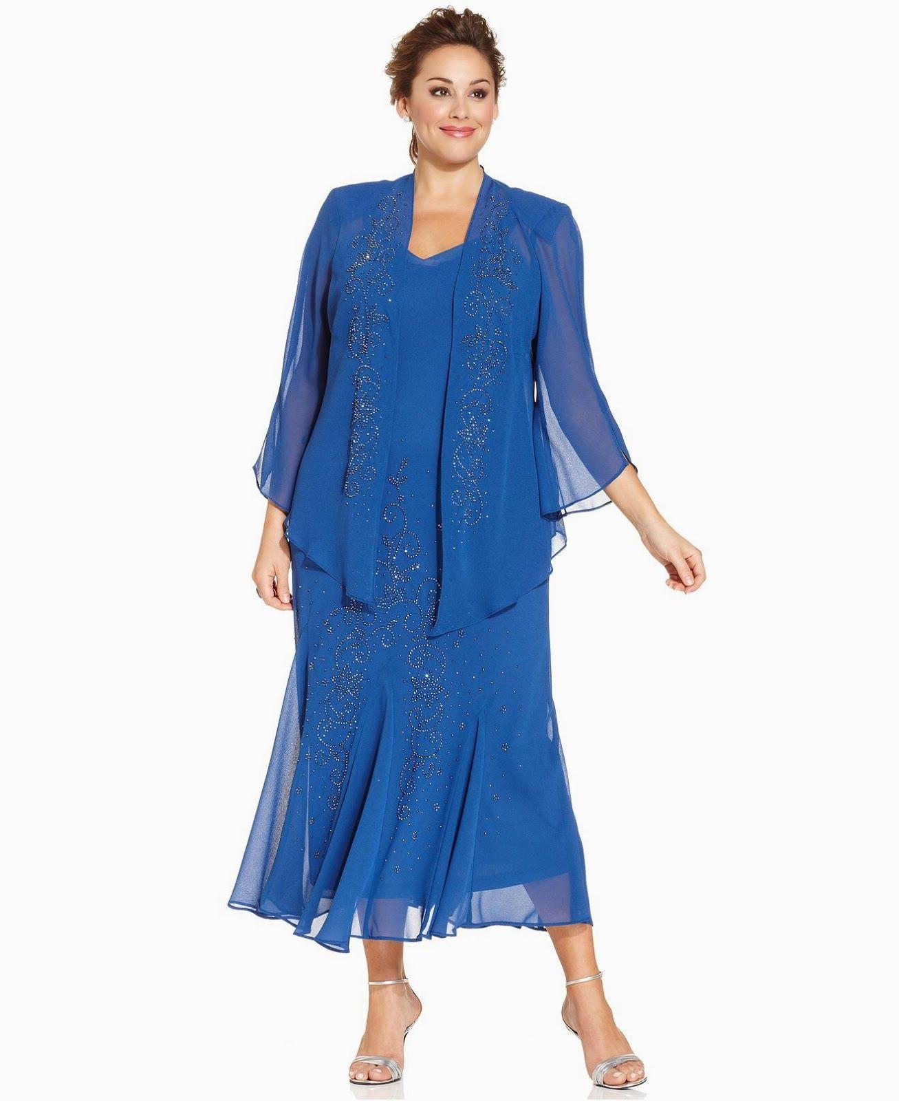 40c21719c Fantásticos vestidos largos para gorditas