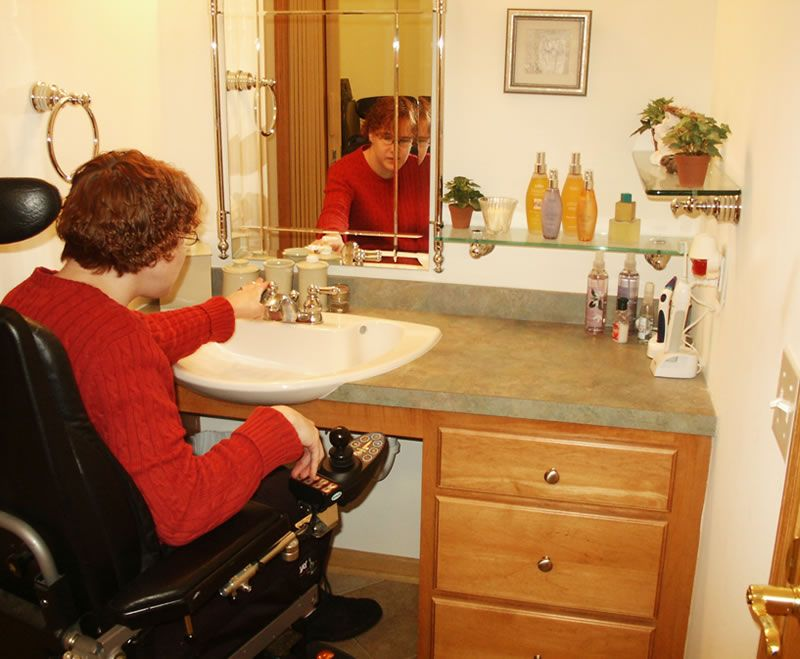 Accessibility Design Home Access For Seniors Disabled Pinterest Sinks Design Projects