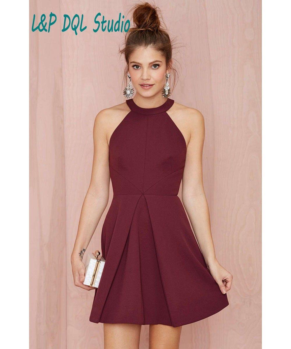 Aliexpress.com: Comprar Sexy Borgoña Vestidos de Fiesta Vestidos de ...