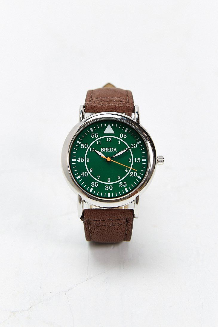 Breda 1655 Circle Face Watch - Urban Outfitters
