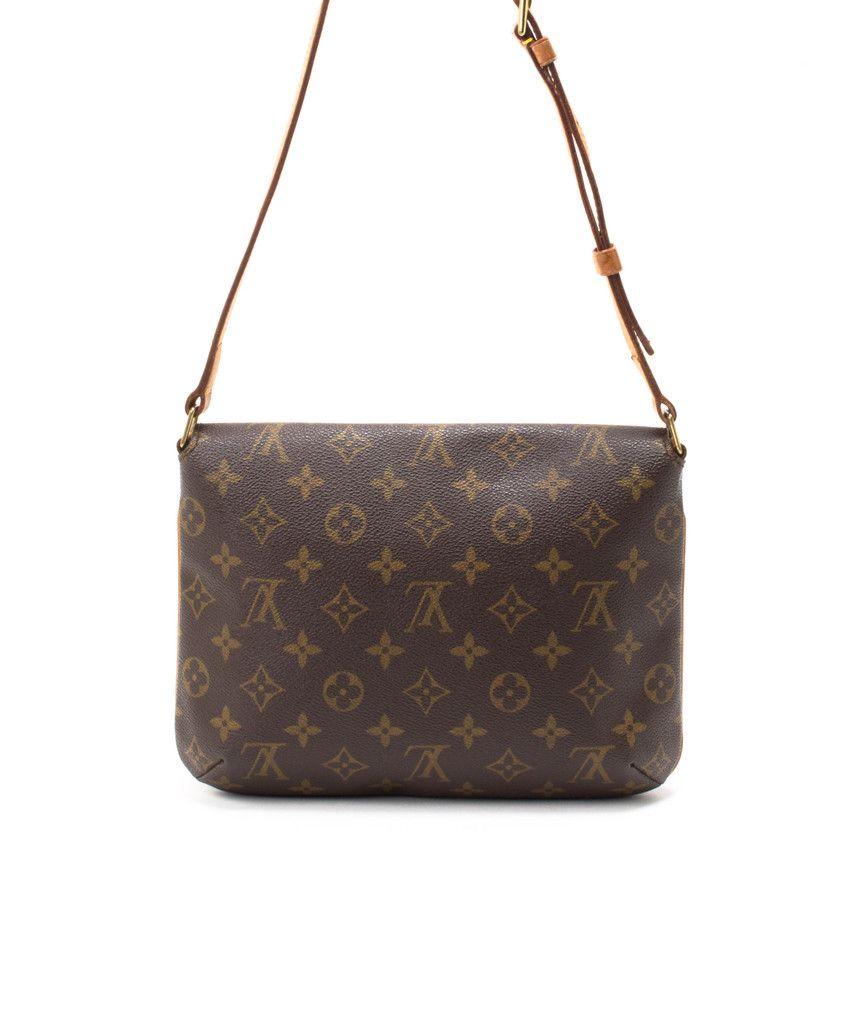 de41f62eecbb Louis Vuitton Monogram Musette Tango Handbag