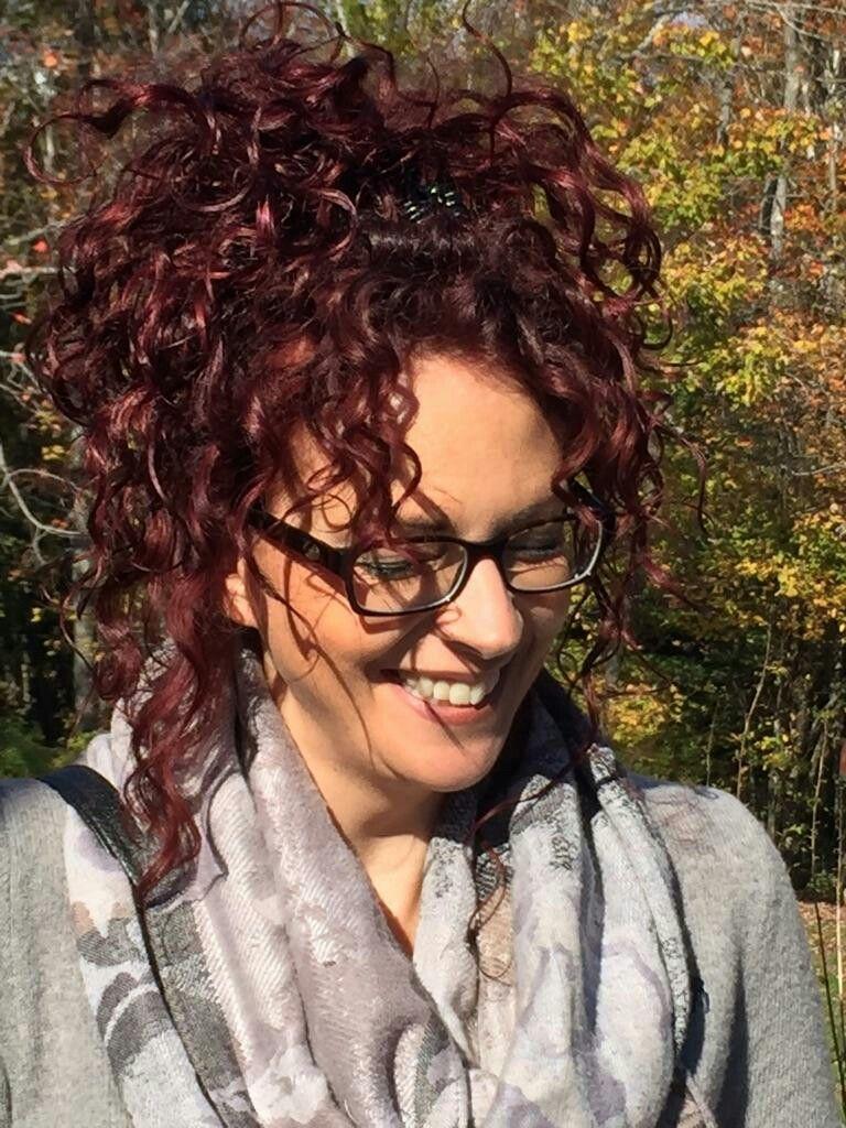 Dark red curls hair pinterest red curls