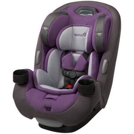 Safety 1st Grow And Go EX Air 3 In 1 Convertible Car Seat Royal Grape Purple