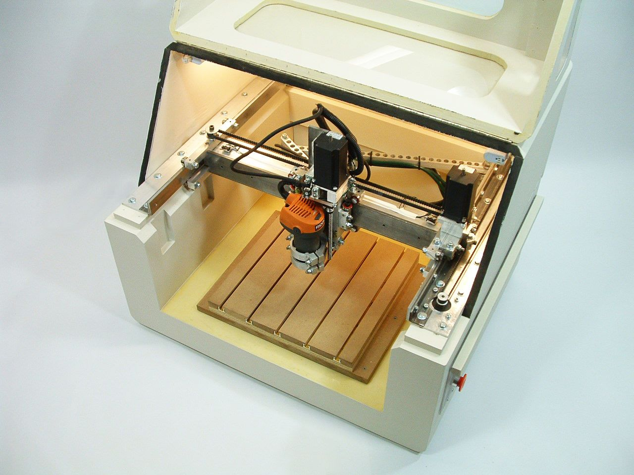 PLANS to build CNC 3 axis router table, milling machine