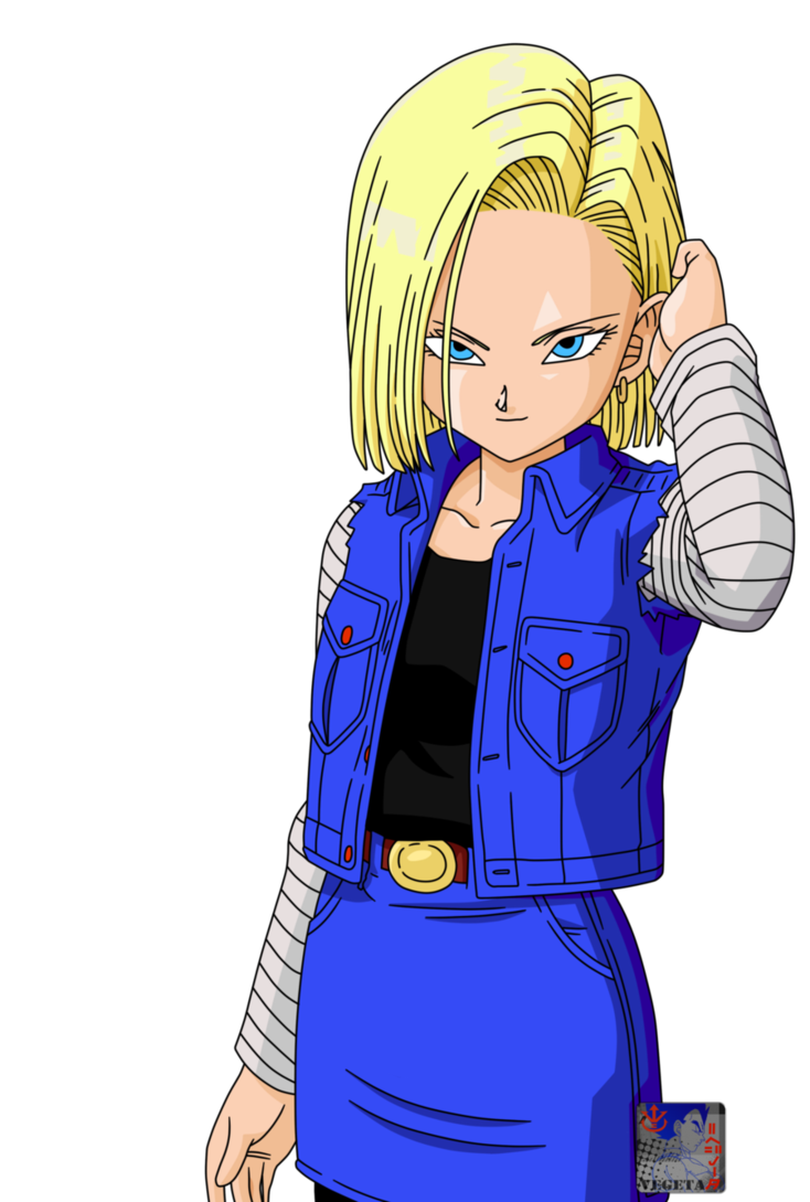C18 lineart42 color by prinzvegeta on deviantart dragonball androide dragon ball - Dragon ball z c18 ...