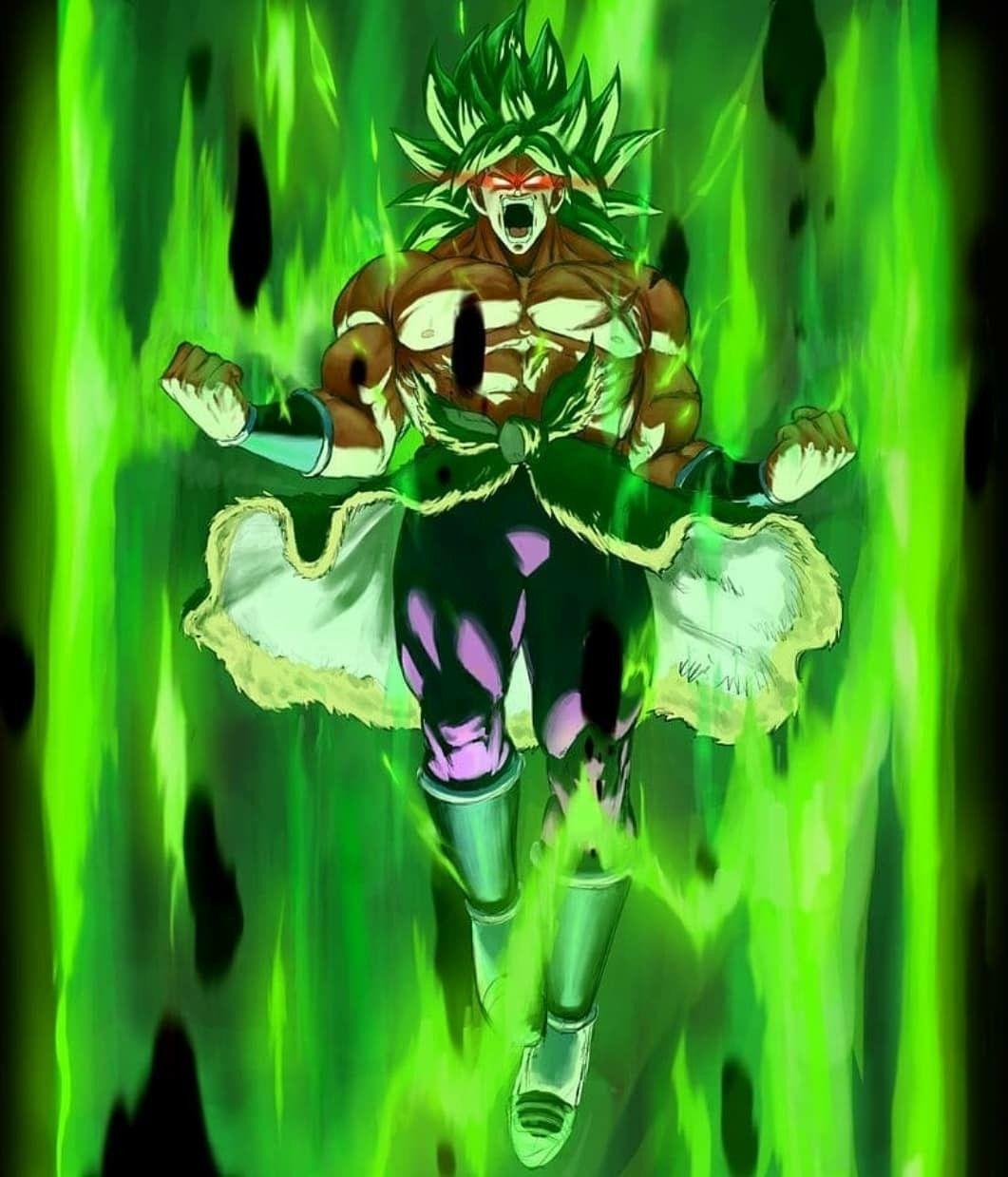 Broly The Legendary Super Saiyan Anime Dragon Ball Super Dragon