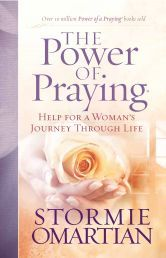 """THE POWER OF PRAYING by STORMIE OMARTIAN. """"Bestselling author Stormie Omartian encourages readers to embrace a rich, active prayer life in The Power of Praying (more than 125,000 copies sold) . Now in a trade version, this book will reach more people as it provides inspiration in a portable package. Available from CUM Books."""
