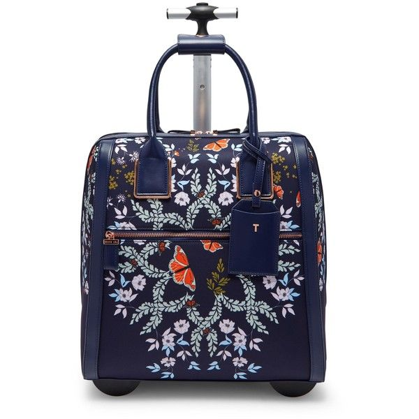 da3d5bc10497e4 Ted Baker Dafni Kyoto Gardens Travel Bag (280 BGN) ❤ liked on Polyvore  featuring bags