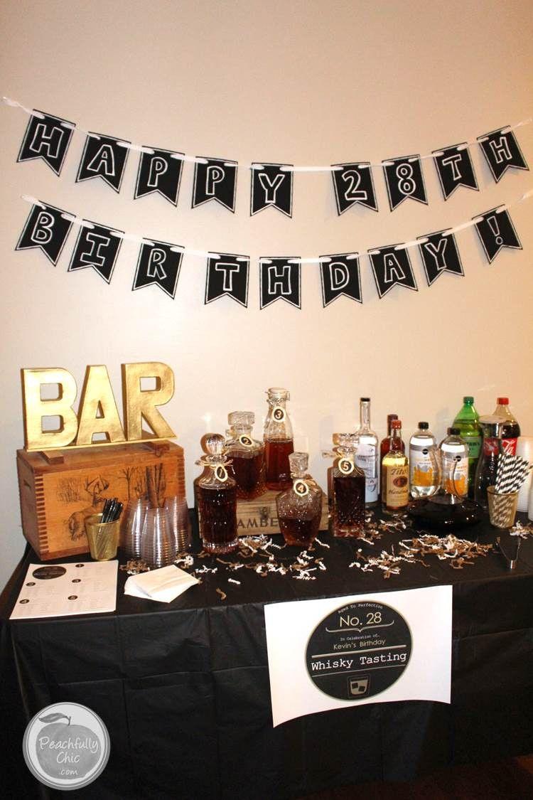 Planning Guys Birthday Party Mens Birthday Party 40th Birthday