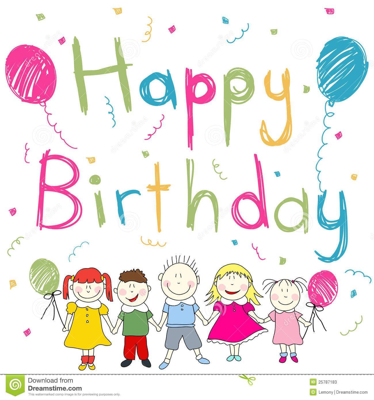 Tarjetita de Cumpleaños para Niños Tarjetitas de Cumpleaños Pinterest Searching