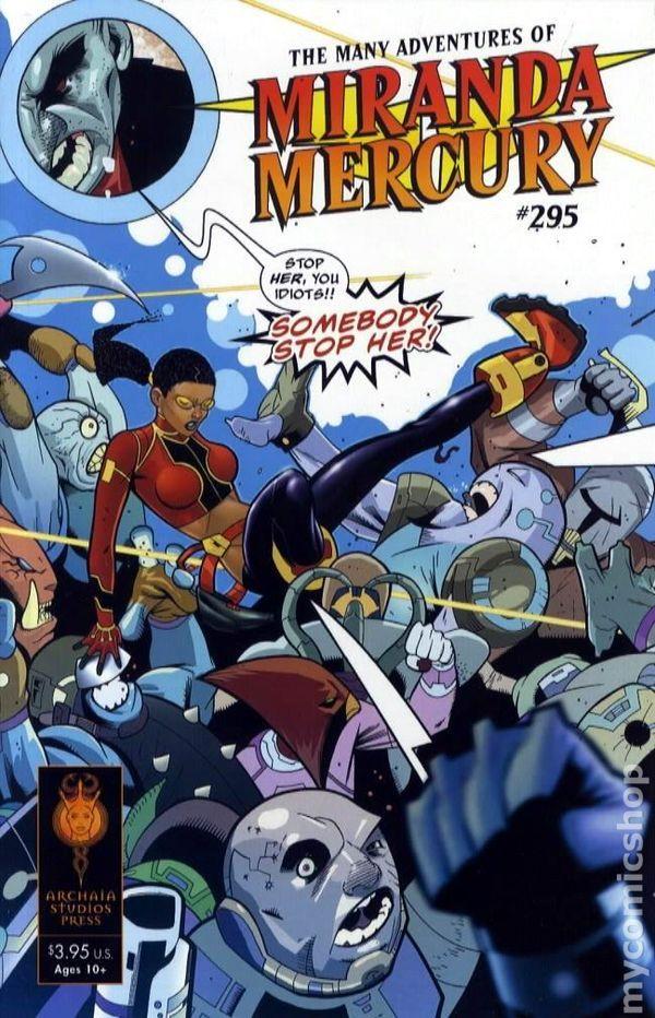 READ THE MANY ADVENTURES OF MIRANDA MERCURY #295 FOR FREE!!!