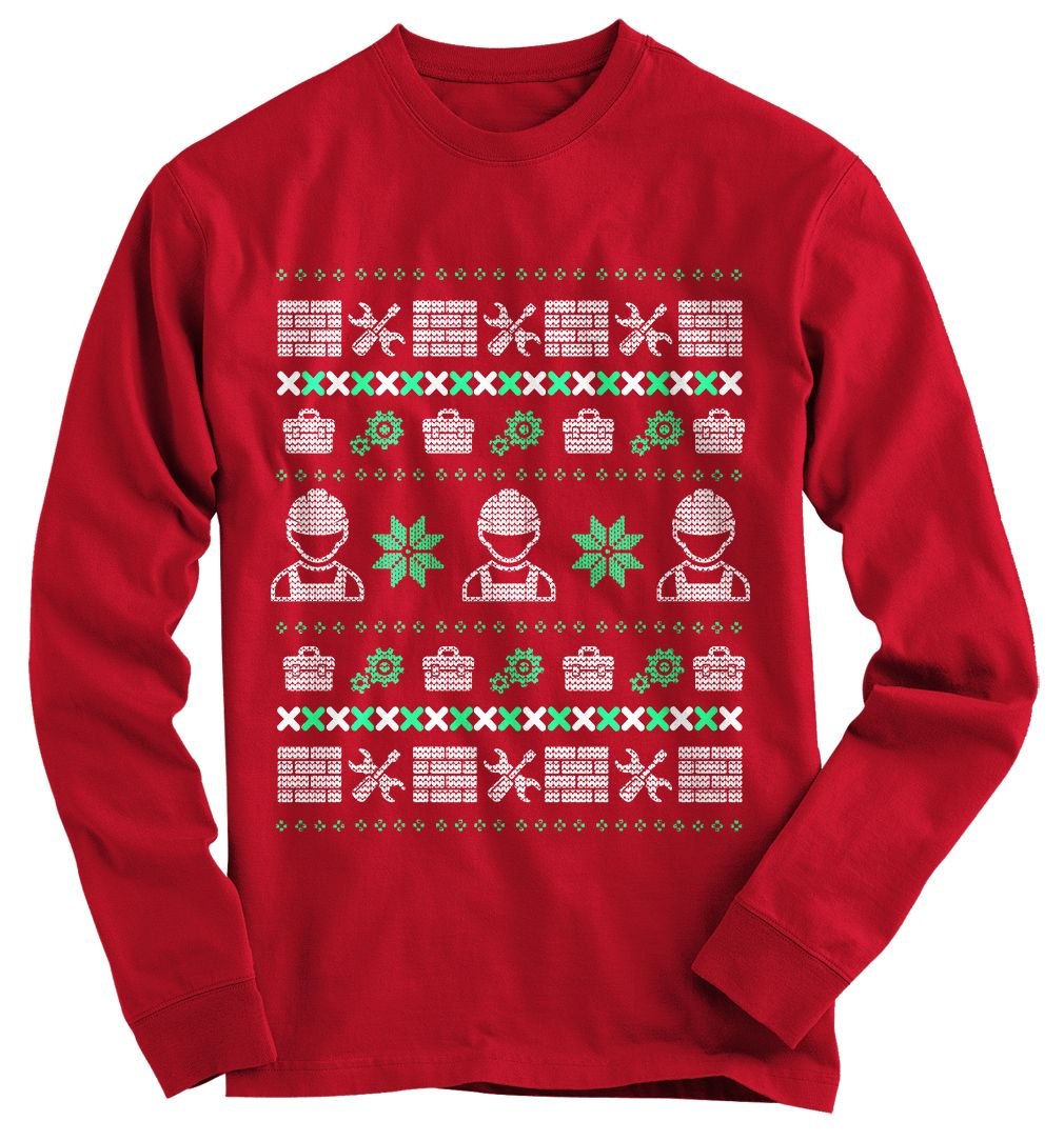 Holiday Baking Team - Unisex Ugly Christmas Sweatshirt h7ie9oBta