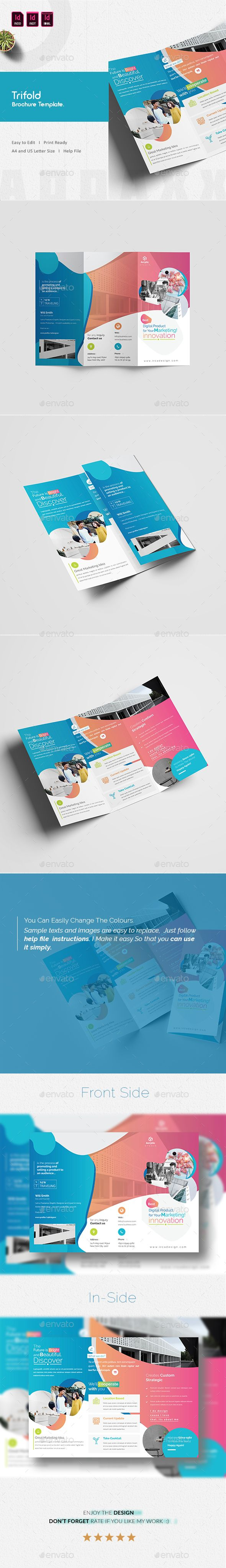 Trifold Brochure  Brochures Brochure Template And Template