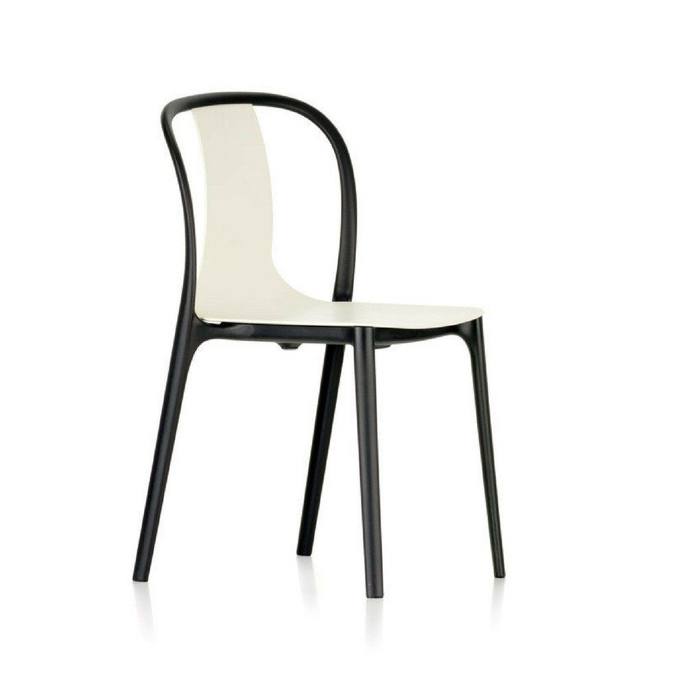 Vitra Belleville Chair Plastic In 2020 White Plastic Chairs Chair Upholstery Fabric For Chairs