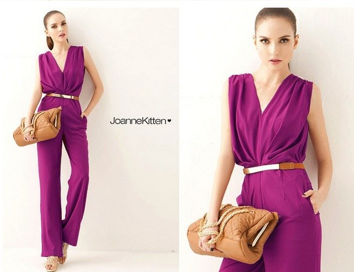 New design fashion style for office lady ,click here to know more about it right now .http://www.aliexpress.com/store/product/design-office-lady-Long-wide-legged-jumpsuits/537093_1737755410.html