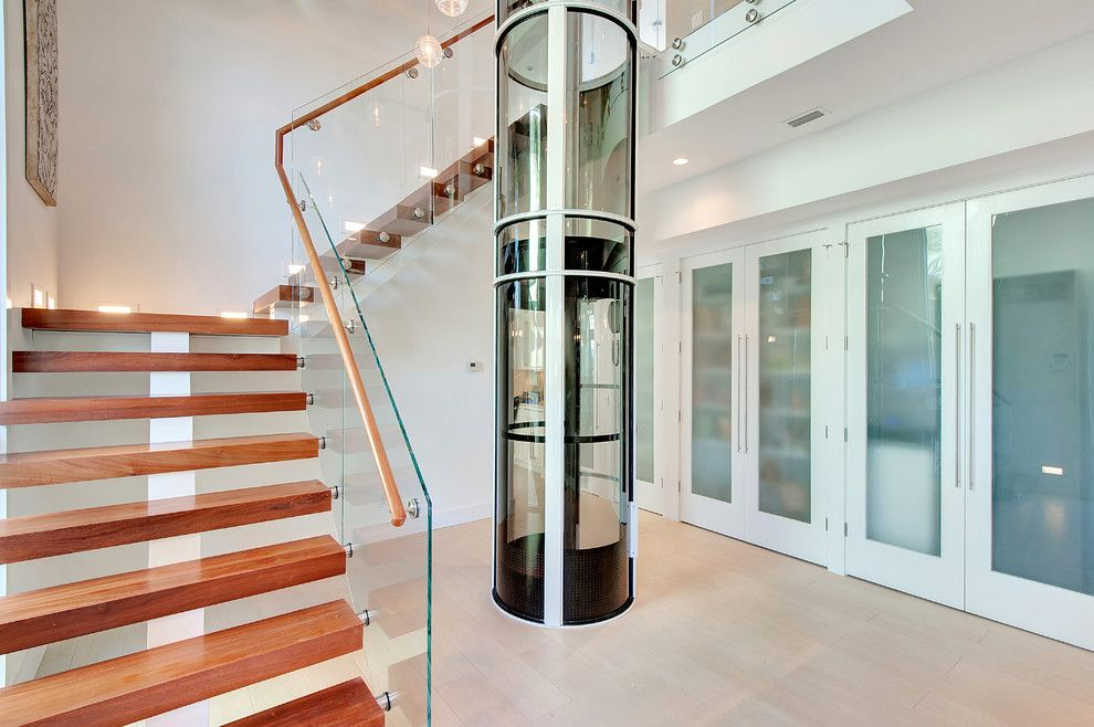 Best Residential Elevator Cost Staircase Contemporary With 400 x 300