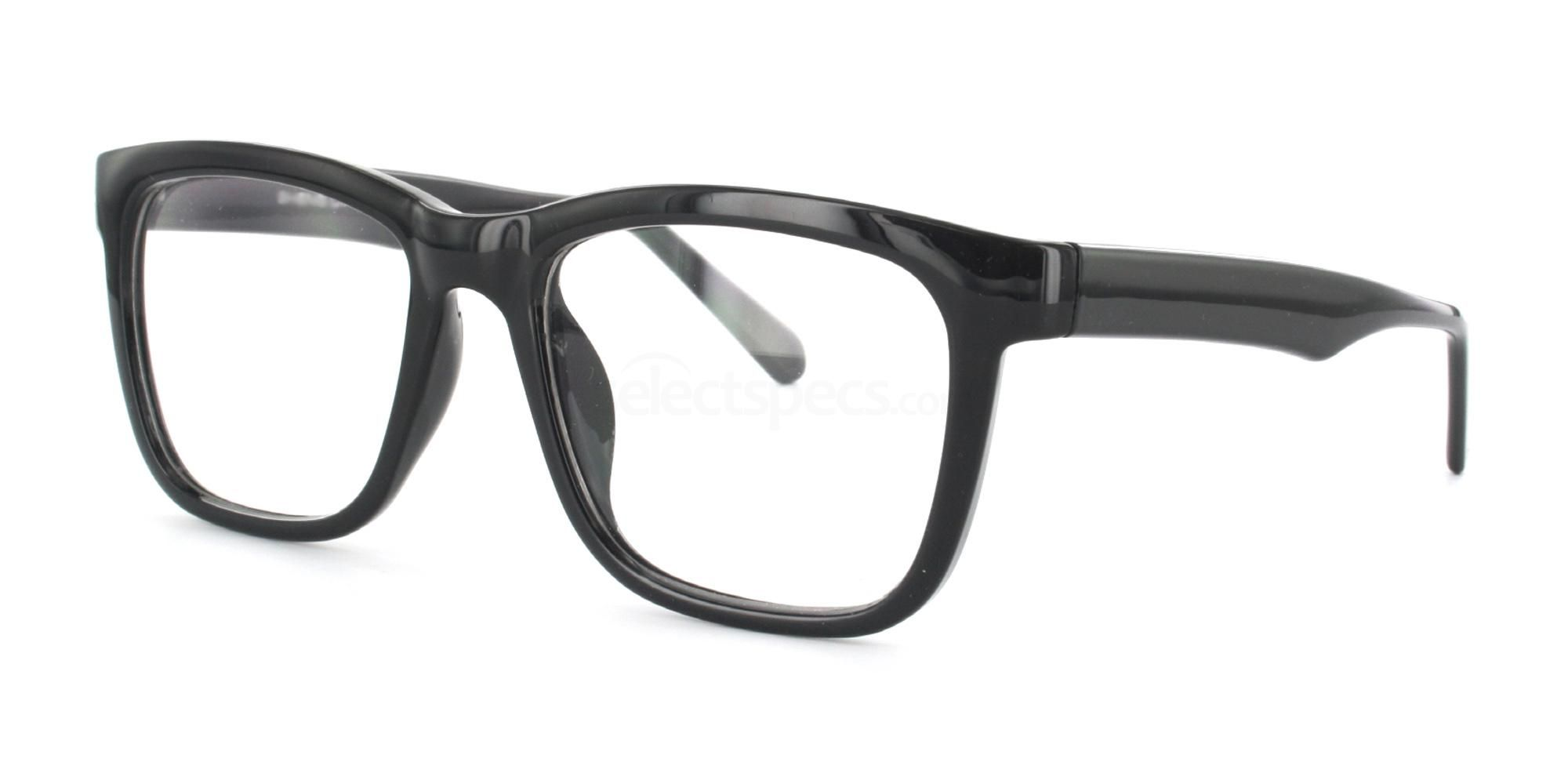 6db10ae1a3f0 Black thick rimmed glasses at SelectSpecs