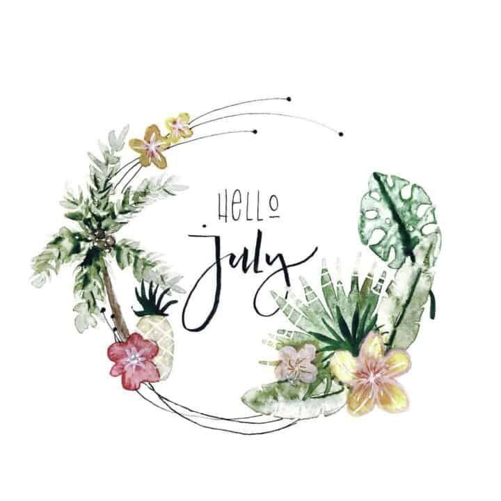 110+ July welcome pages for your Bullet Journal | My Inner Creative