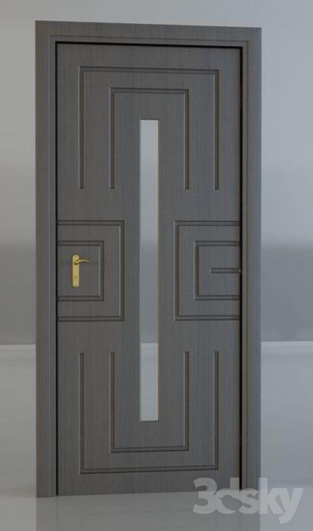 door_08 Geometric plaque Pinterest Doors, Wood interior doors