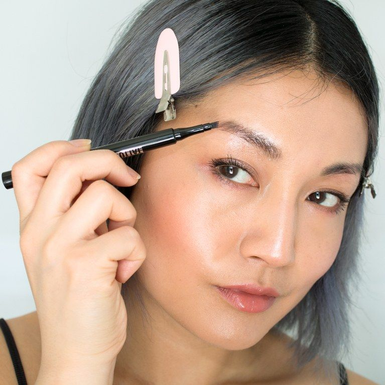 I tried maybellines viral brow pen and its almost like