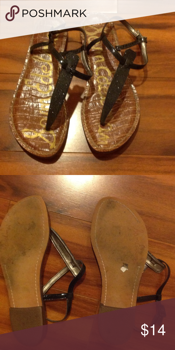 Sam Edelman sparkly Sandals Gently loved but in good condition. Sam Edelman Shoes
